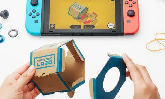 "Nintendo Labo:  construction + motion gaming, la nouvelle invention ""en carton"" de la Switch"