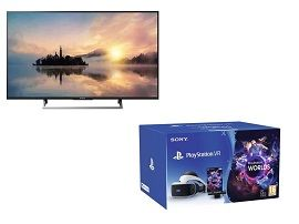 Bon plan:  pack TV LED Sony 4K + PlayStation VR2 à 599€