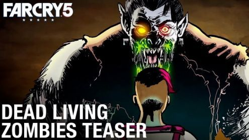 Far Cry 5:  Le DLC Dead Living Zombies prend date en vidéo
