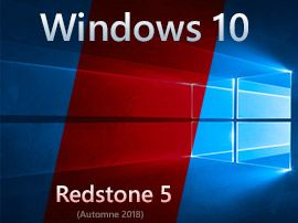 Windows 10:  le processus de développement de la version Redstone 5 continue