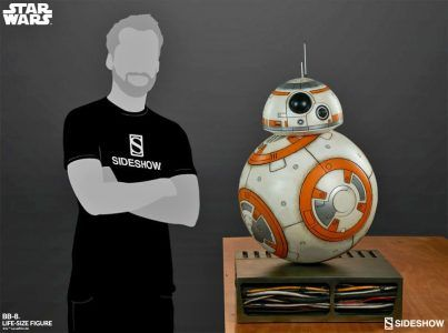 Star Wars:  Slideshow propose un BB-8 à taille réelle