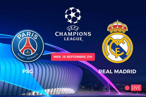 Streaming PSG Real Madrid : où voir la Ligue des Champions ? 🔴