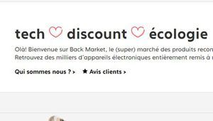 Back Market vend des iPhone reconditionnés par Apple