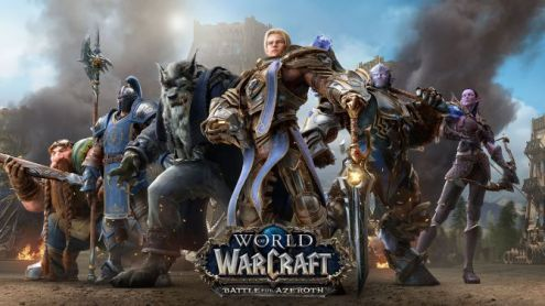 World of Warcraft Battle for Azeroth:  La mise à jour de pré-lancement datée