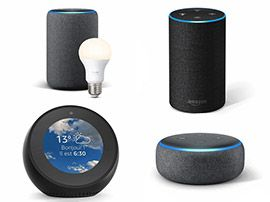 Comparatif Amazon Echo:  quelle enceinte connectée Alexa choisir en 2019 ?