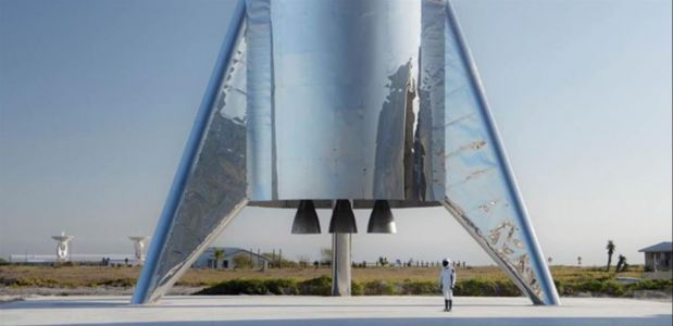 Starship de SpaceX:  Elon Musk publie une photo de la fusée de test