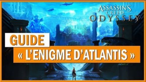 "🎮 Assassin's Creed Odyssey - Guide:  "" L'énigme de l'Atlantide "" - Post de L4st-4ngel"