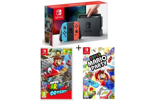 Nintendo Switch:  50 packs encore en promotion avant Noël 🔥