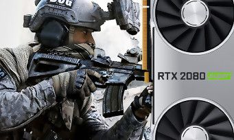 Nvidia:  Call of Duty Modern Warfare offert pour l'achat d'une GeForce RTX