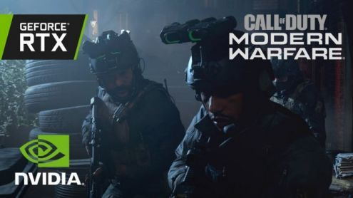 Nvidia montre le Ray Tracing sur Call of Duty Modern Warfare et c'est super beau
