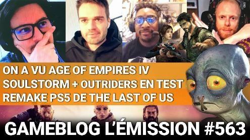 PODCAST 563:  Place à Age of Empires IV, Outriders, Soulstorm, et un remake PS5 de The Last of Us