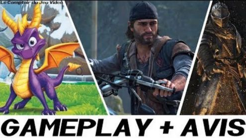 J'ai joué à Days Gone, Spyro Trilogy ! - Post de StephaneLink