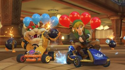 Mario Kart 8 Deluxe:  Sur Switch, on s'remet des karts