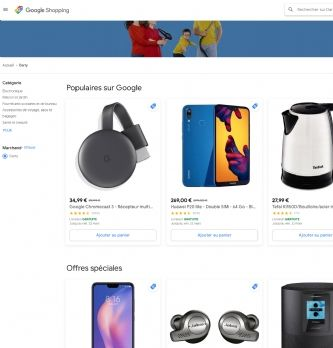 EC1TO1 Google Shopping Actions passe à la phase commerciale