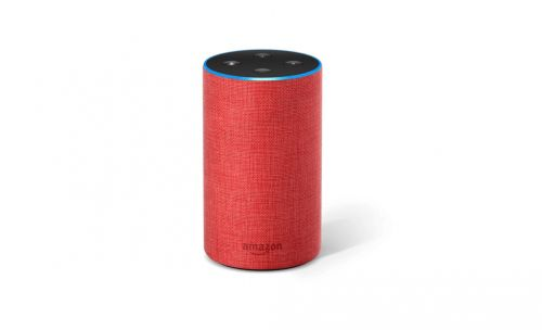 Amazon lance son Echo Plus avec une jolie robe rouge pour le Black Friday 2018