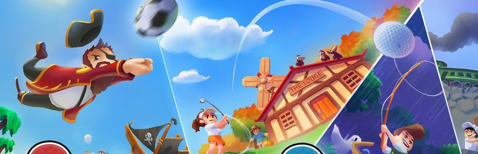 Sidebar Games annonce Sports Story, la suite de Golf Story