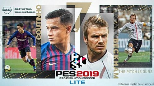 PES 2019:  La version free to play disponible et c'est GRATUIT