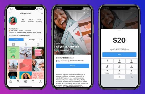 Instagram Testing Fundraising For Personal Causes