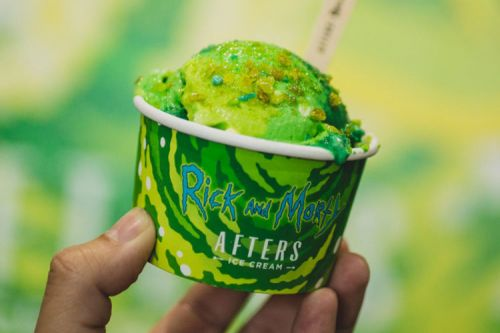 NEED:  Afters lance des glaces Rick et Morty