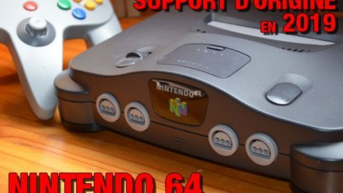 Support d'origine en 2019 - La Nintendo 64 - Post de Kenji Seang