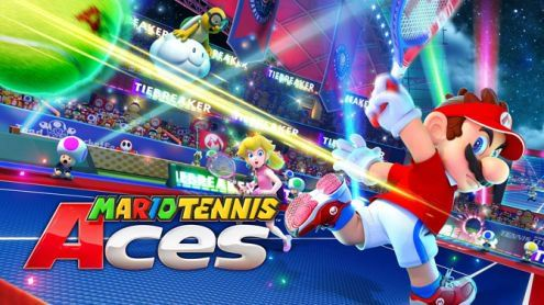 TEST de Mario Tennis Aces:  Un carré d'as ?
