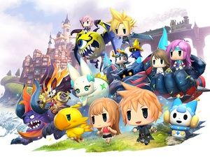 World of Final Fantasy:  un spin-off mobile