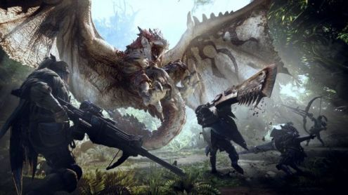 TGS 2017:  Monster Hunter World dévoile 30 minutes de gameplay