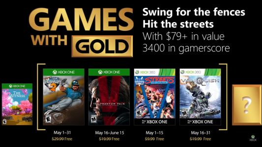 Xbox Live Games With Gold:  Les jeux gratuits Xbox One & Xbox 360 de mai 2018