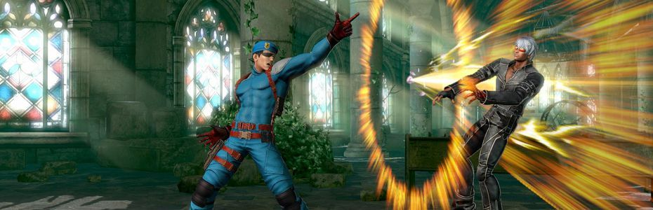 Heidern annonce son retour dans The King of Fighters XIV