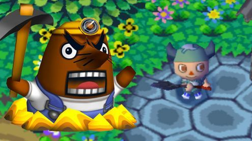 E3 2019:  Animal Crossing New Horizons met Mr. Resetti au chômage