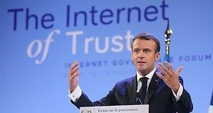 Internet Governance Forum : le plaidoyer pro-régulation d'Emmanuel Macron