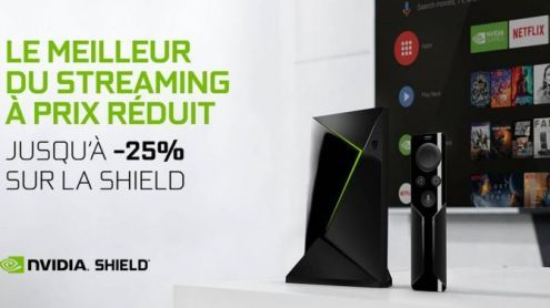 Black Friday:  Nvidia propose jusqu'à 25% de réduction sur la Shield