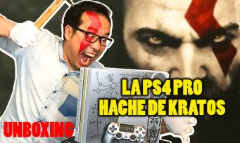 "GOD OF WAR:  on vous unboxe la PS4 Pro ""Leviathan Grey"" en forme de hache"