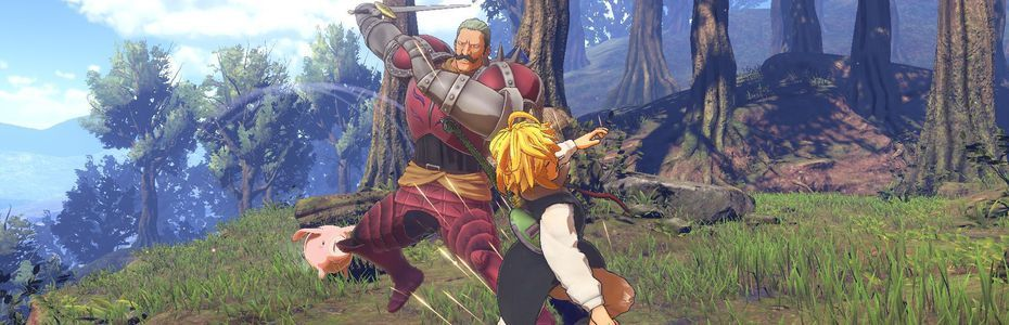 Action, réactions - Puyo affronte The Seven Deadly Sins:  Knights of Britannia