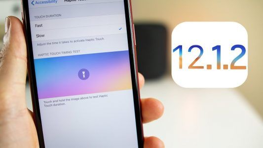 Apple a mis en ligne la version finale d'iOS 12.1.2