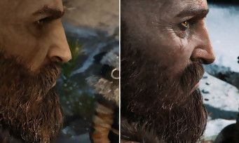 GOD OF WAR:  un comparatif vidéo entre la version E3 2016 et la version finale sur PS4 Pro