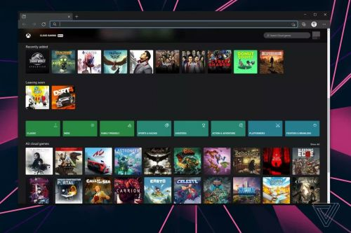 Xbox Game Streaming:  l'application xCloud pour Windows se montre