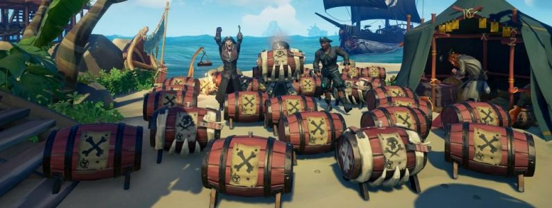 Sea of Thieves Black Powder Stashes:  Événement à l'horizon !