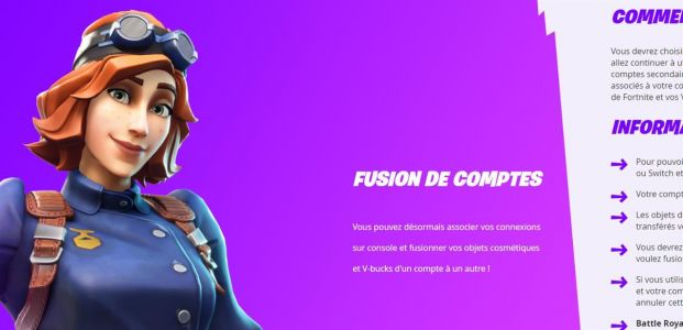 Fortnite:  il est enfin possible de fusionner ses comptes PS4, Switch et Xbox One