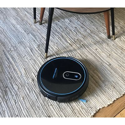 Test:  Eziclean Sweeper Connect:  un robot hybride qui aspire et qui lave