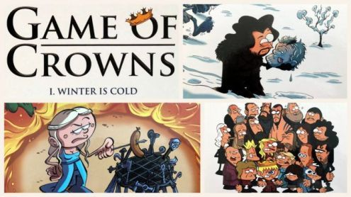 Game of Crowns ! Winter is Cold et Spice & Fire - Post de HecqDavid