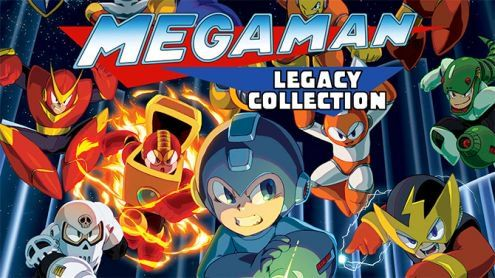 Mega Man Legacy Collection:  Les deux compilations réunies sur Switch ?