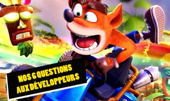 Crash Team Racing Nitro Fueled:  on a posé 6 questions aux développeurs juste avant le test