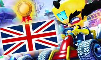 Crash Team Racing:  le jeu cartonne au Royaume-Uni, 4 fois plus de ventes que Team Sonic Racing