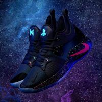 Nike PG-2 PlayStation Colorway:  des baskets PlayStation, avec la star NBA Paul George