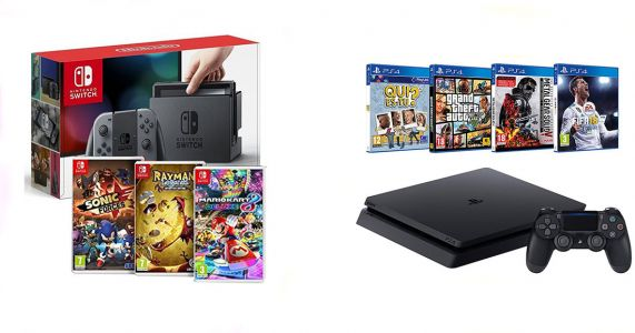 Cyber Monday:  BONS PLANS sur la Nintendo Switch, la PS4 et la Xbox One S