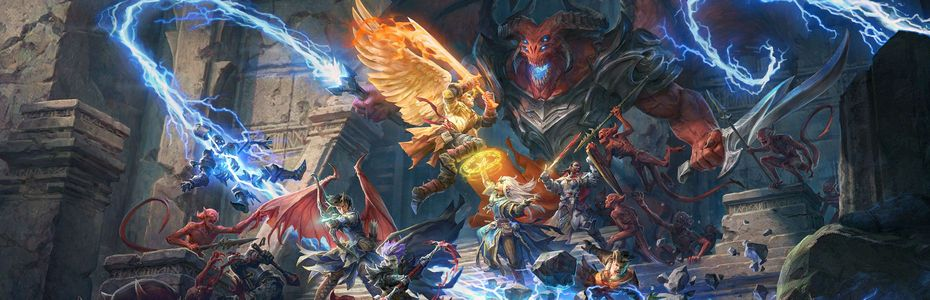 Pathfinder:  Wrath of the Righteous s'offre un système de combat au tour par tour en option
