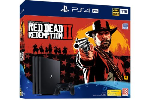 Red Dead Redemption 2:  des packs PS4 et PS4 Pro au programme
