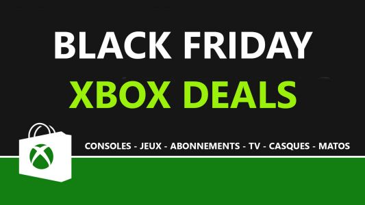 Black Friday Xbox 2020:  les promotions et bons plans ici en direct !