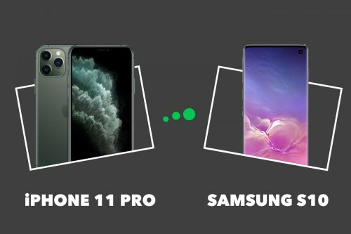 IPhone 11 Pro vs Galaxy S10 : quel smartphone choisir ?